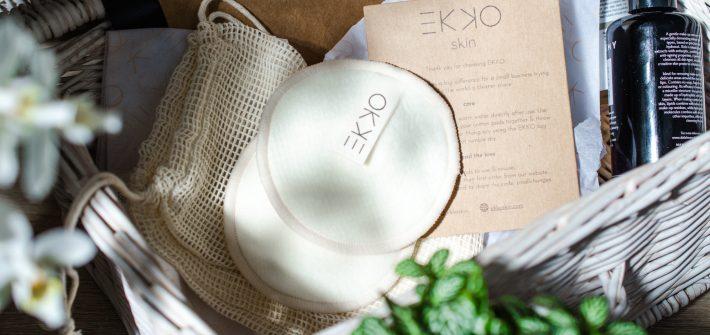 EKKO Reusable Hemp Cotton Pads