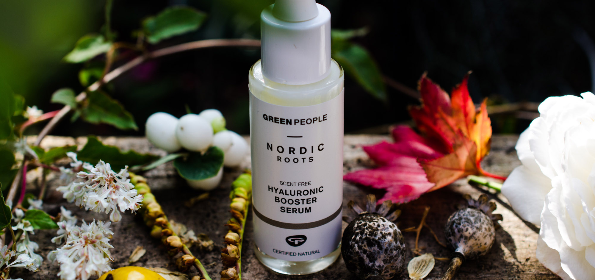 Green People Nordic Roots Hyaluronic Booster Serum