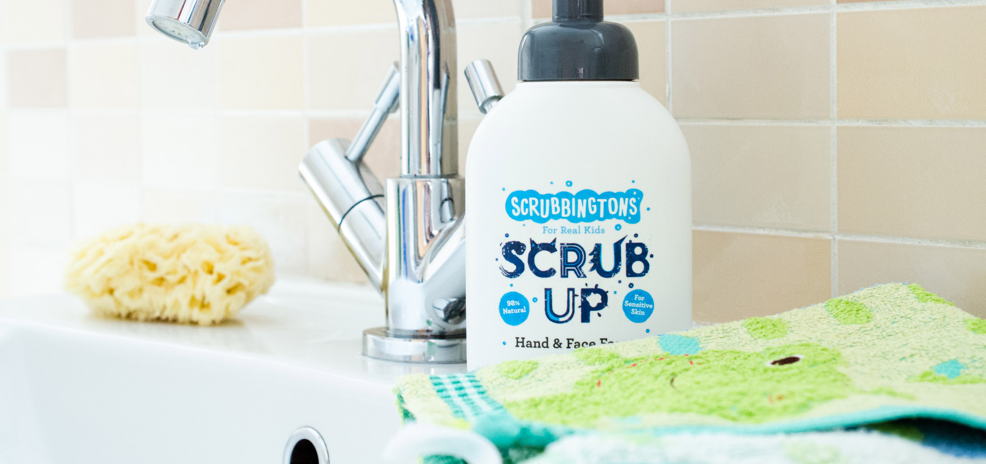 Scrubbingtons Hand & Face Foam