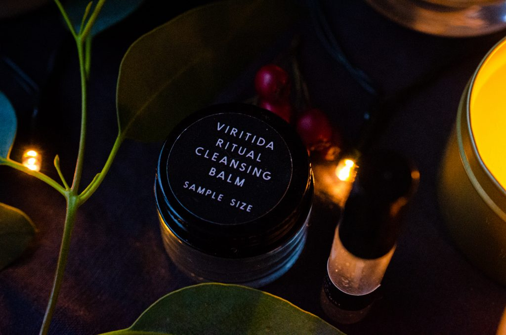 Arcana Sulis Mineral Replenish Mist & Viritida Ritual Cleansing Balm trial sizes