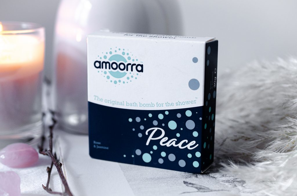 Amoora Peace Rose & Jasmine Shower Bomb