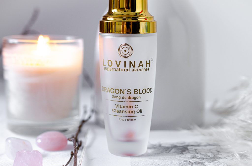 Lovinah Dragon's Blood Vitamin C Cleansing Oil