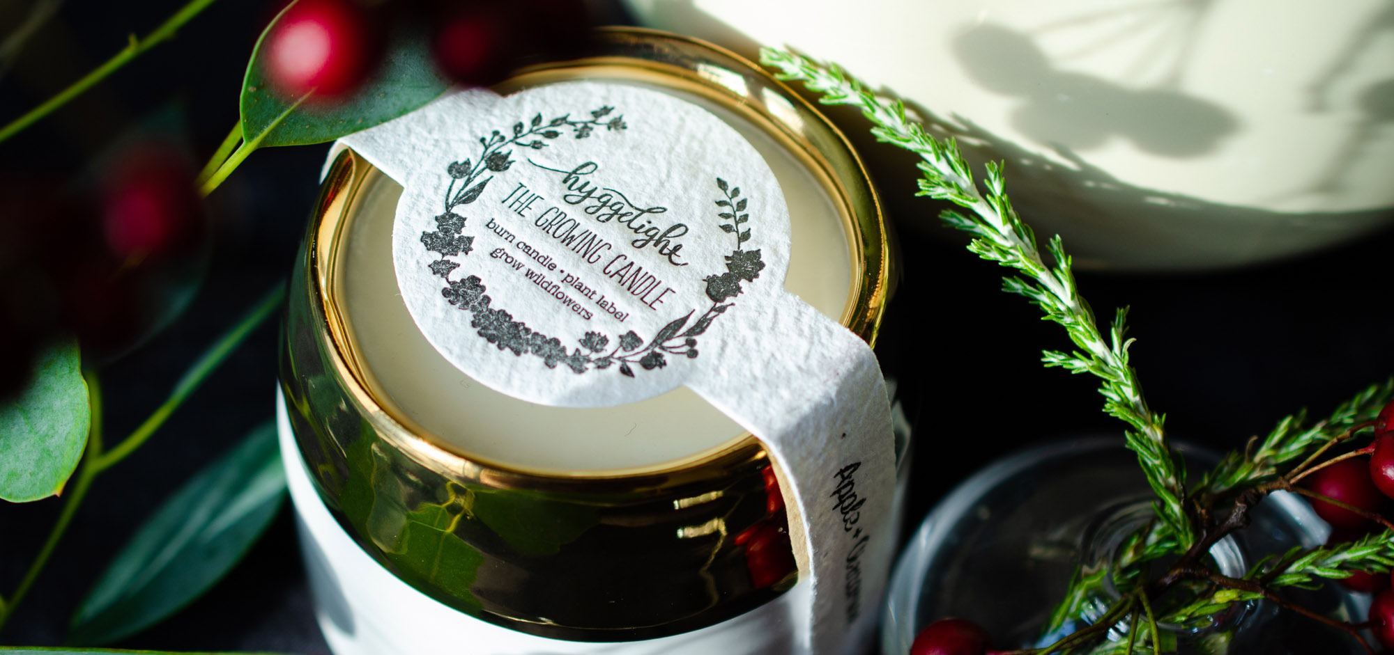 Shop small beauty stores with Live in the Light and this Hyggelight candle