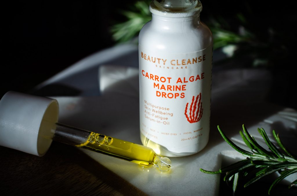 Beauty Cleanse Skincare Carrot Algae Marine Drops