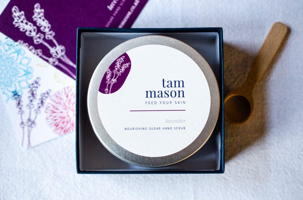 Tam Mason Lavender Hand Scrub