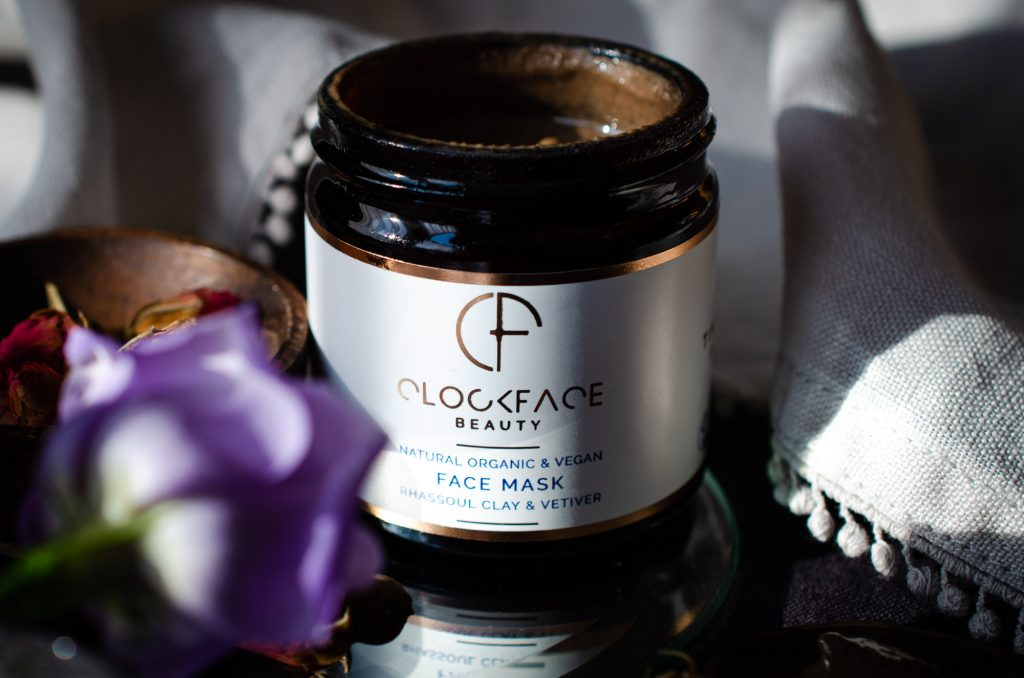 Clockface Beauty Face Mask with Rhassoul Clay & Vetiver