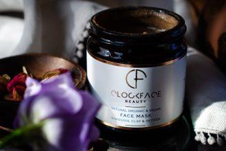 Vetiver skincare - Clockface Beauty Face Mask