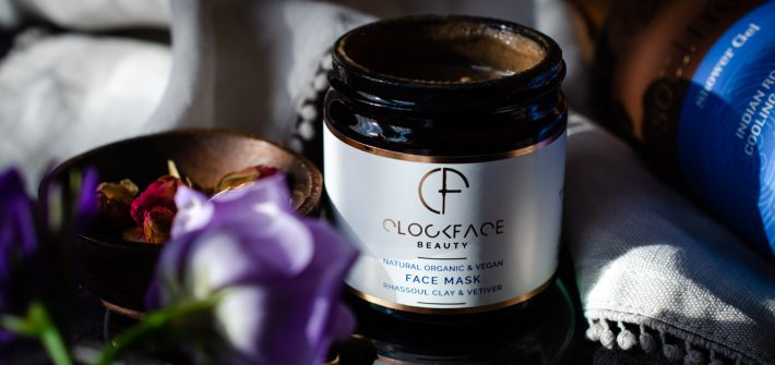 Vetiver skincare - Clockface Beauty Face Mask