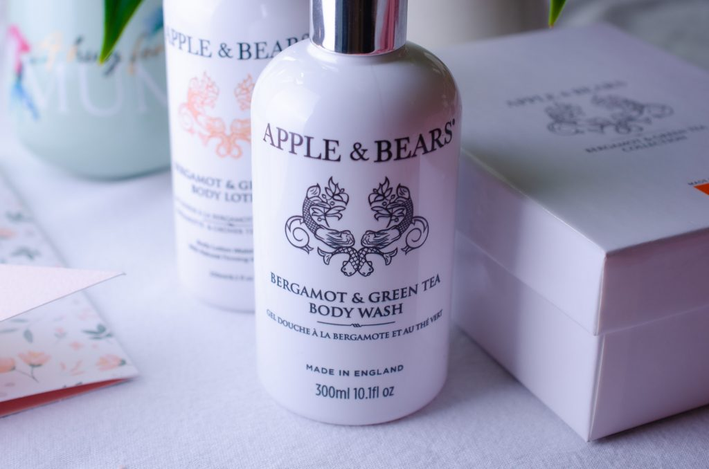 Apple & Bears Luxury Body Care Gift Set - Bergamot & Green Tea