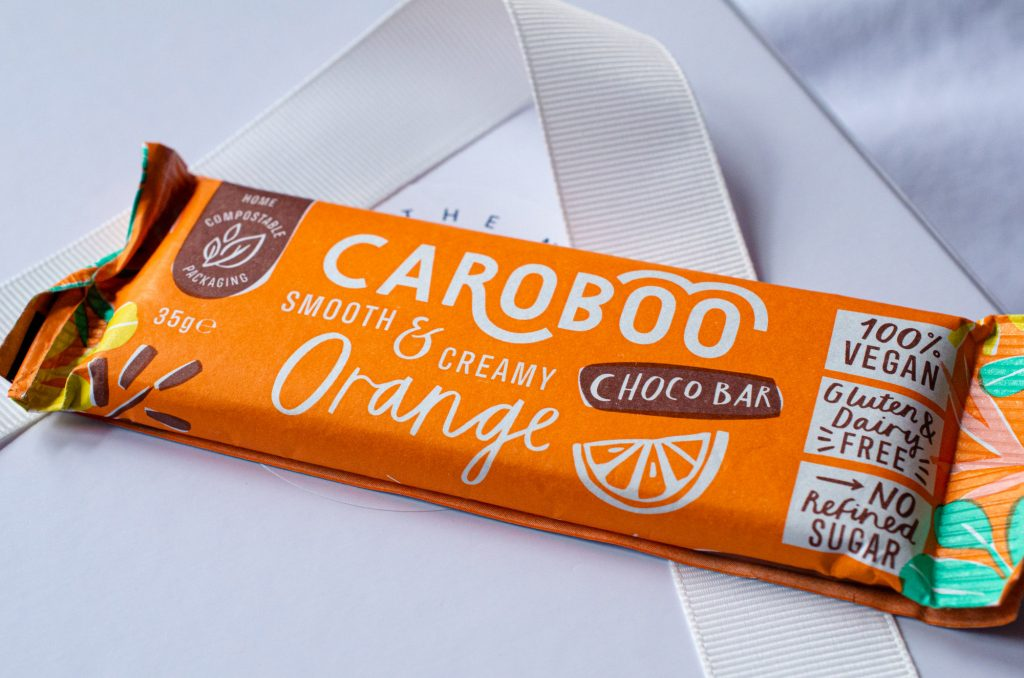 Caroboo Dairy Free Vegan Chocolate Orange Bar