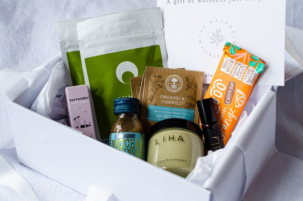 The contents of the Natural Wellness Box