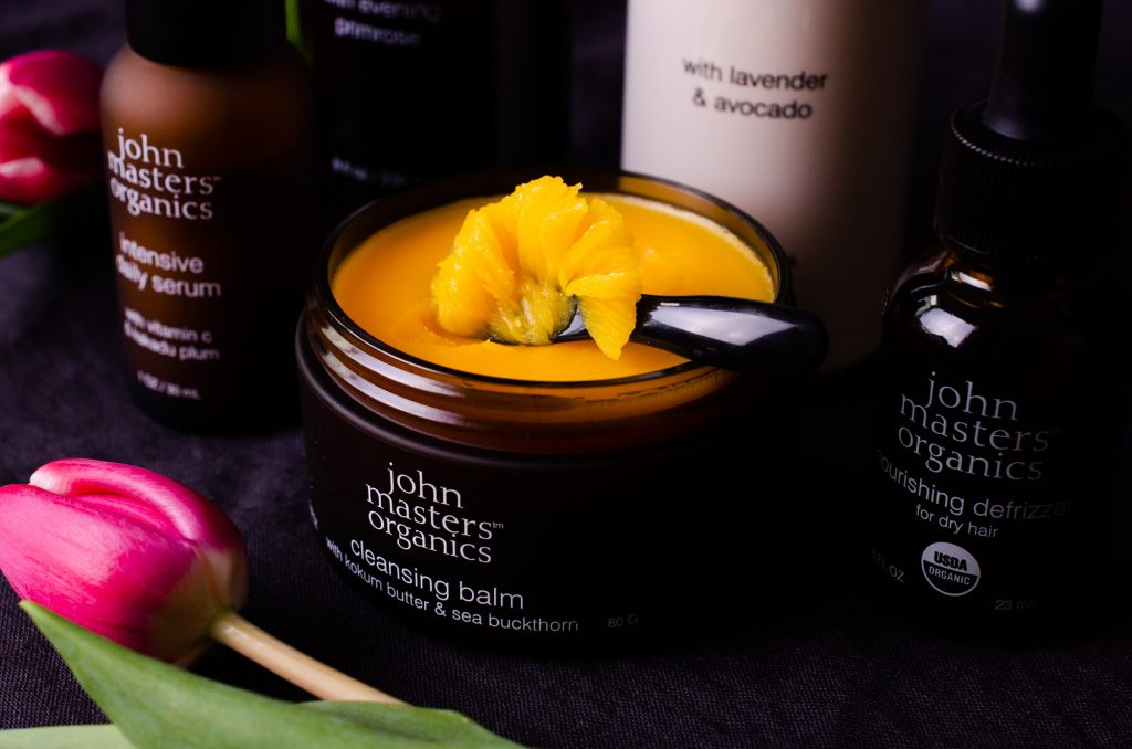 John Masters Organics Cleansing Balm with Kokum Butter and Sea Buckthorn