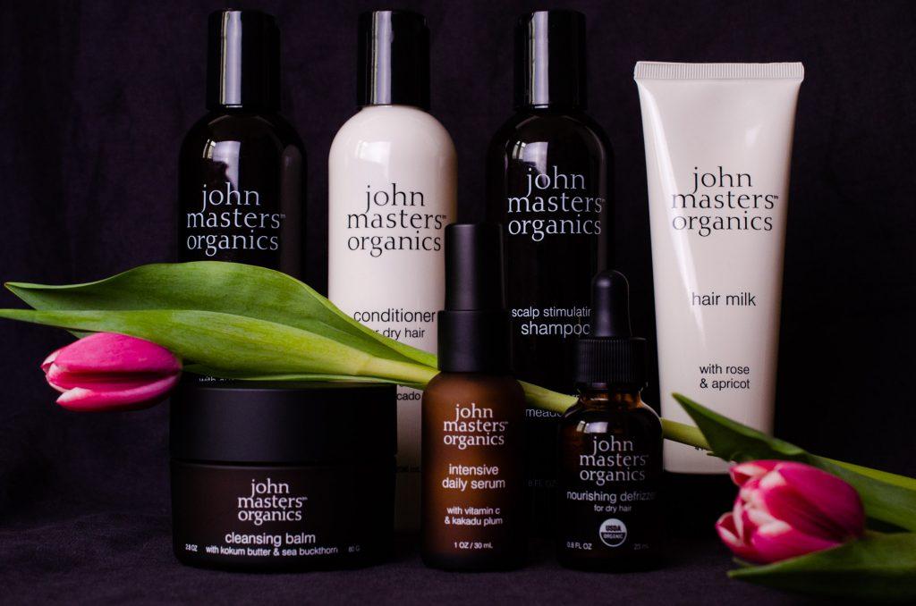 Haircare and skincare from John Masters Organics range