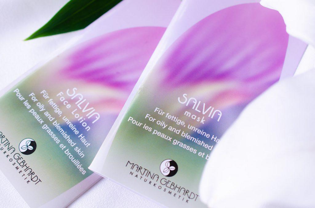Martina Gebhardt Salvia Face Lotion & Mask samples