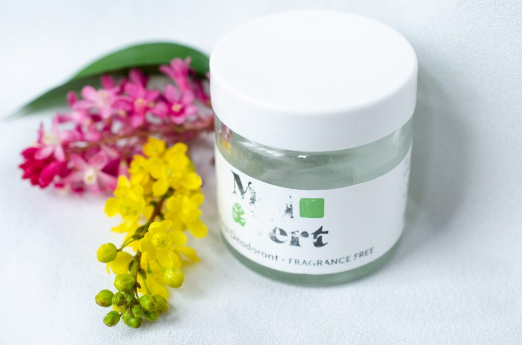 Moi Vert Fragrance Free Natural Deodorant
