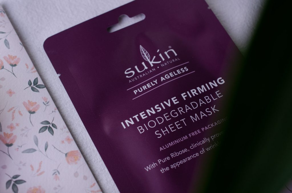 Sukin Purely Ageless Intensive Firming Biodegradable Sheet Mask