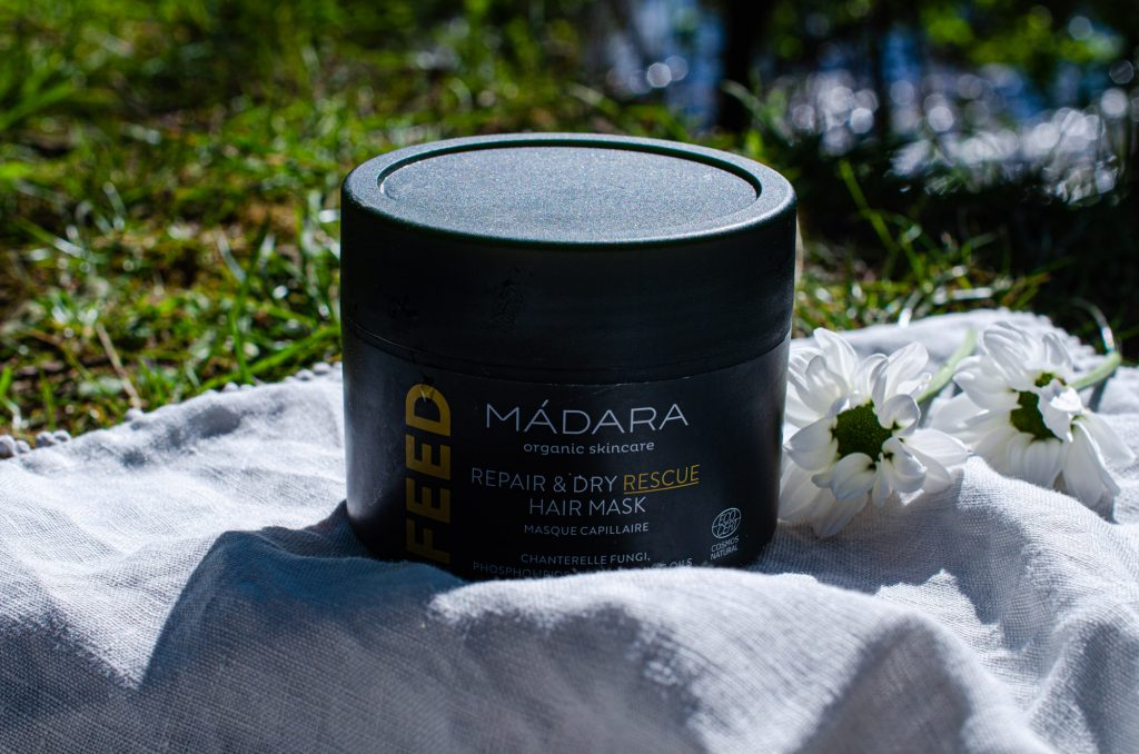 Mádara FEED Repair & Dry Rescue Hair Mask