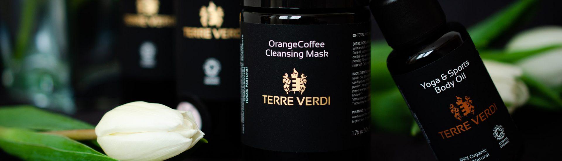 Terre Verdi Orange Coffee Face Mask and more!