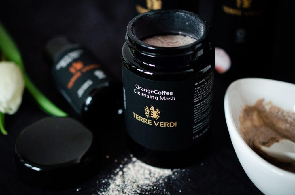 Terrre Verdi Orange Coffee Face Mask