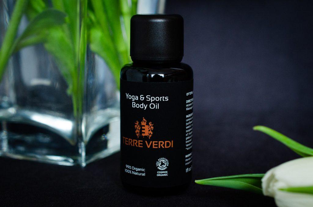 Terre Verdi Yoga & Sports Body Oil