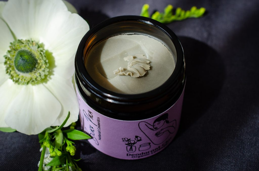 Deodorant Clay in Lavender