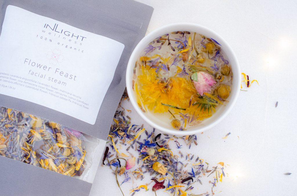 InLight Beauty Flower Feast Facial Steam