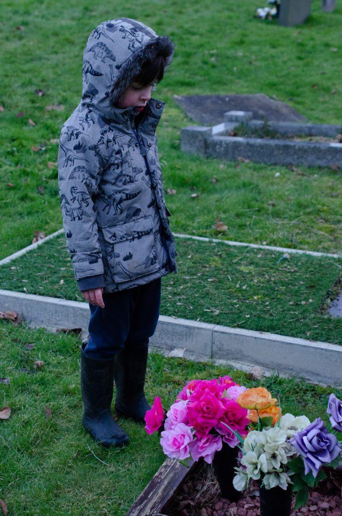 Jonah at the graveyard