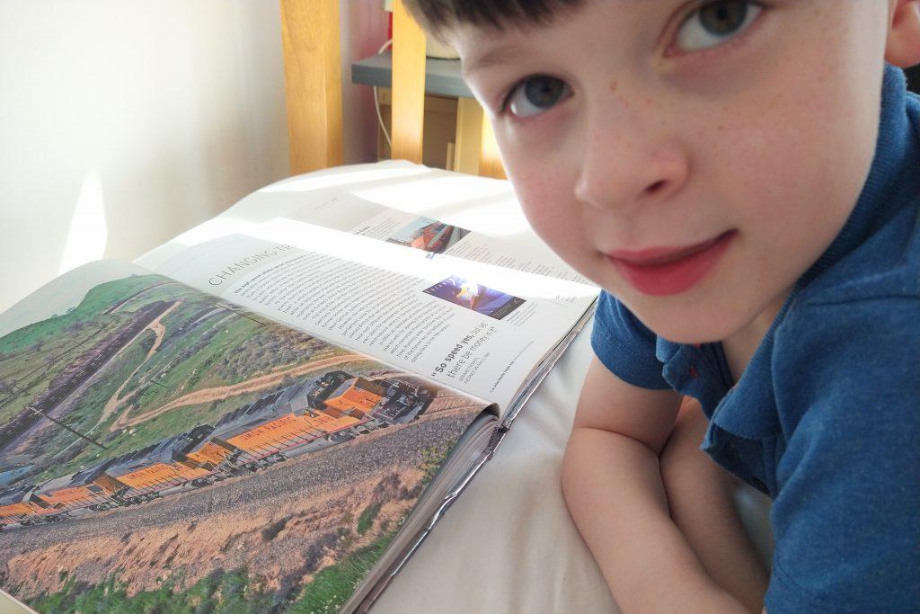 Jonah reading