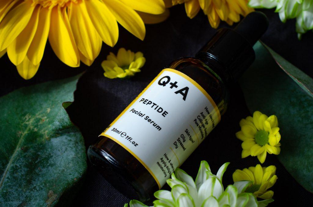 Q+A Peptide Facial Serum