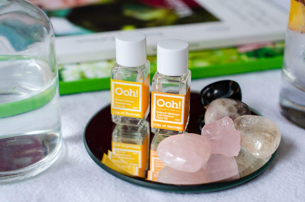 Ooh Travel Size Moringa & Marula Oils