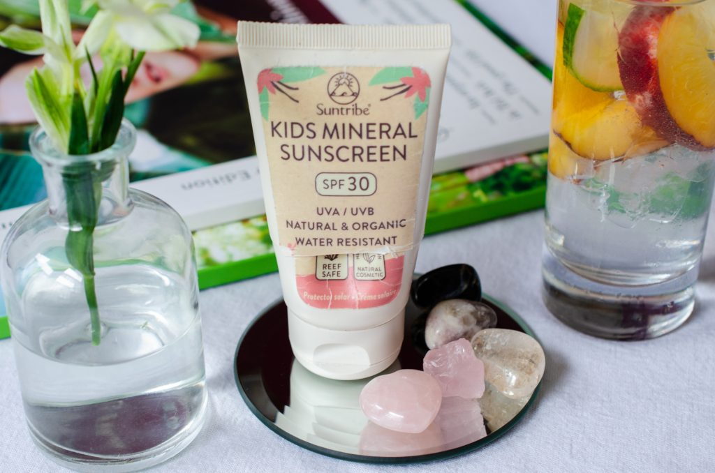 Suntribe Kids Vanilla Sunscreen SPF30