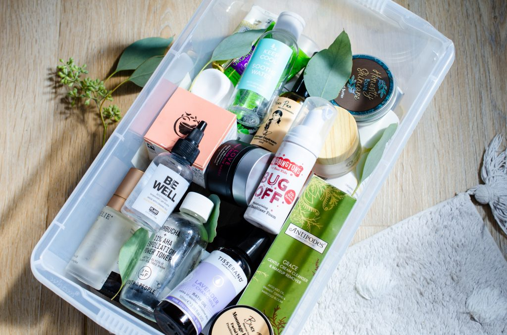 The box! August 2021 natural beauty empties