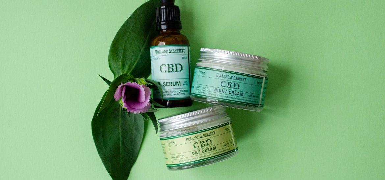 Holland and Barrett CBD Skincare